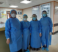 £100could provide enough basic PPE (personal protective equipment) for one frontline health worker for four months.