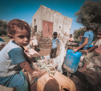 £20could provide clean, safe water for seven families for a month.