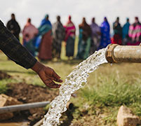 £60 could help people facing drought get clean water
