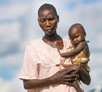 £63could feed three families of six for one month.